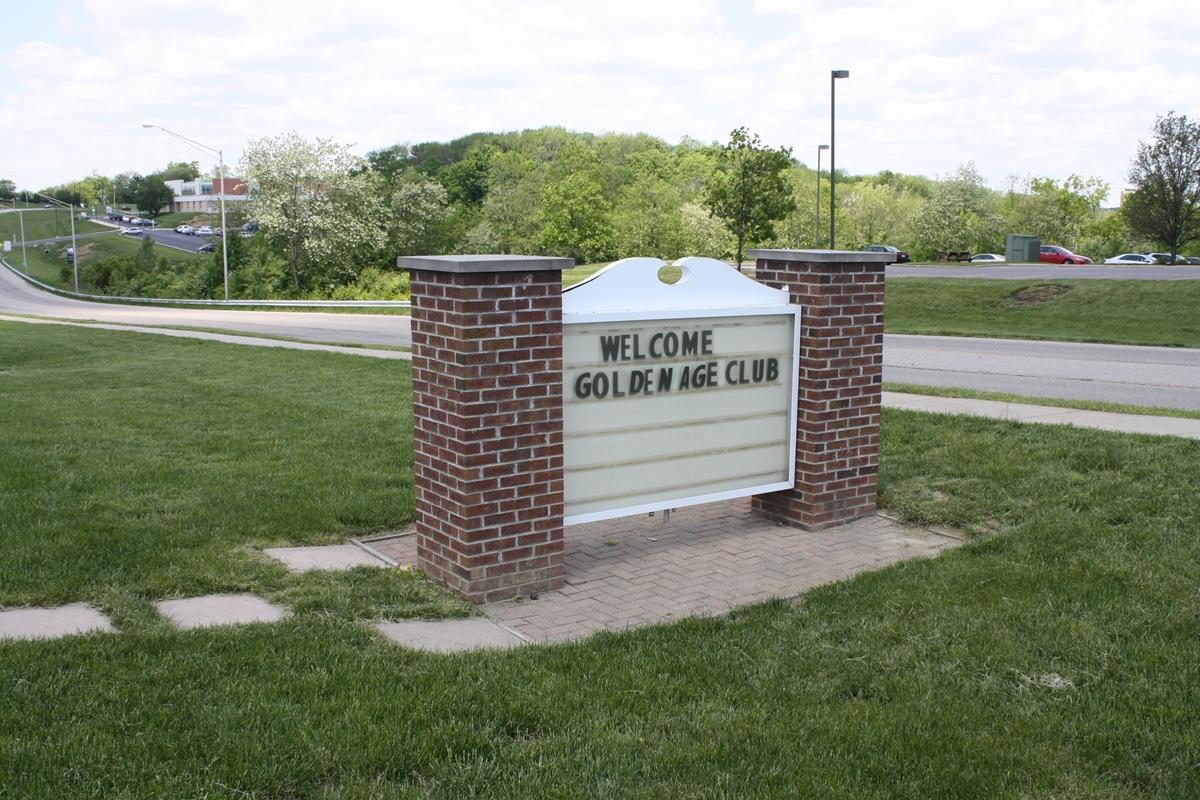 Sr Center Sign